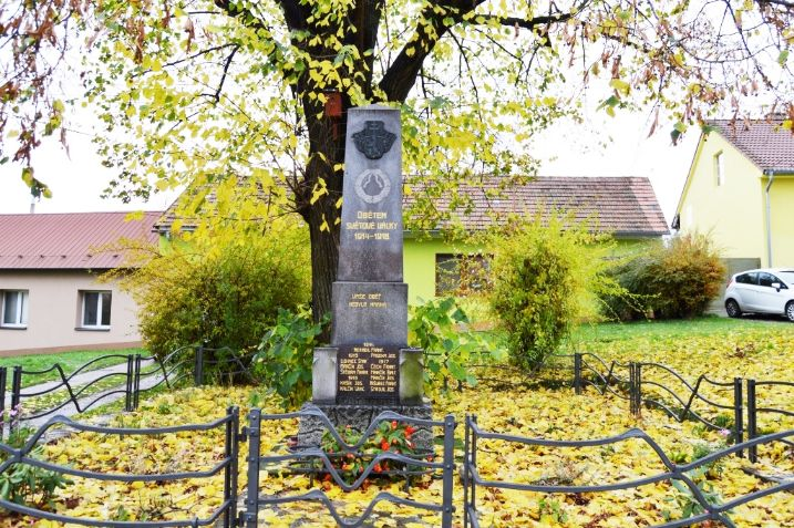 Obětem 1. sv. války Žlutava