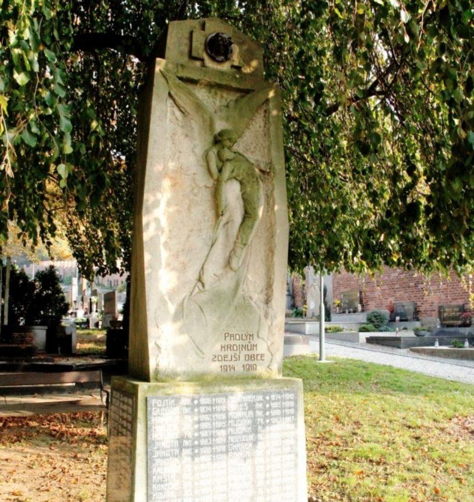 Obětem 1. sv. války Napajedla