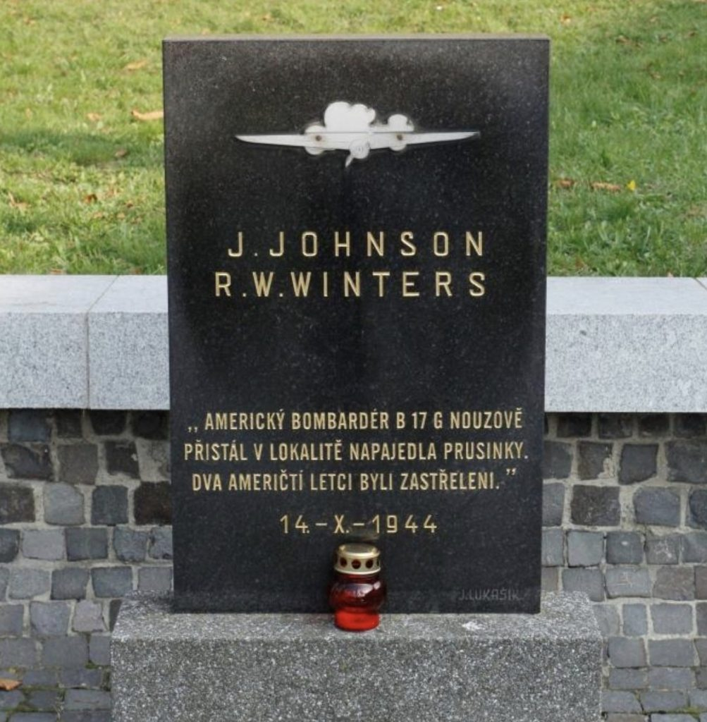 Pomník zastřelených amerických letců