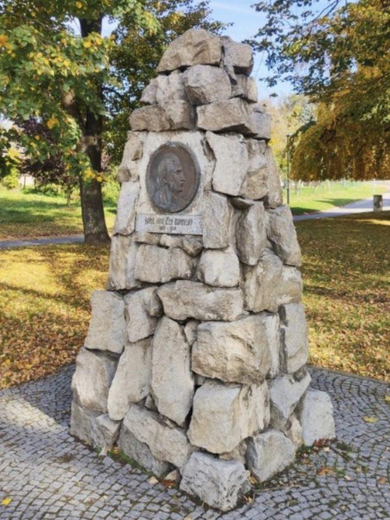 Pomník K. H. Borovského Napajedla